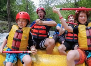 Whitewater Rafting on the Chattooga River